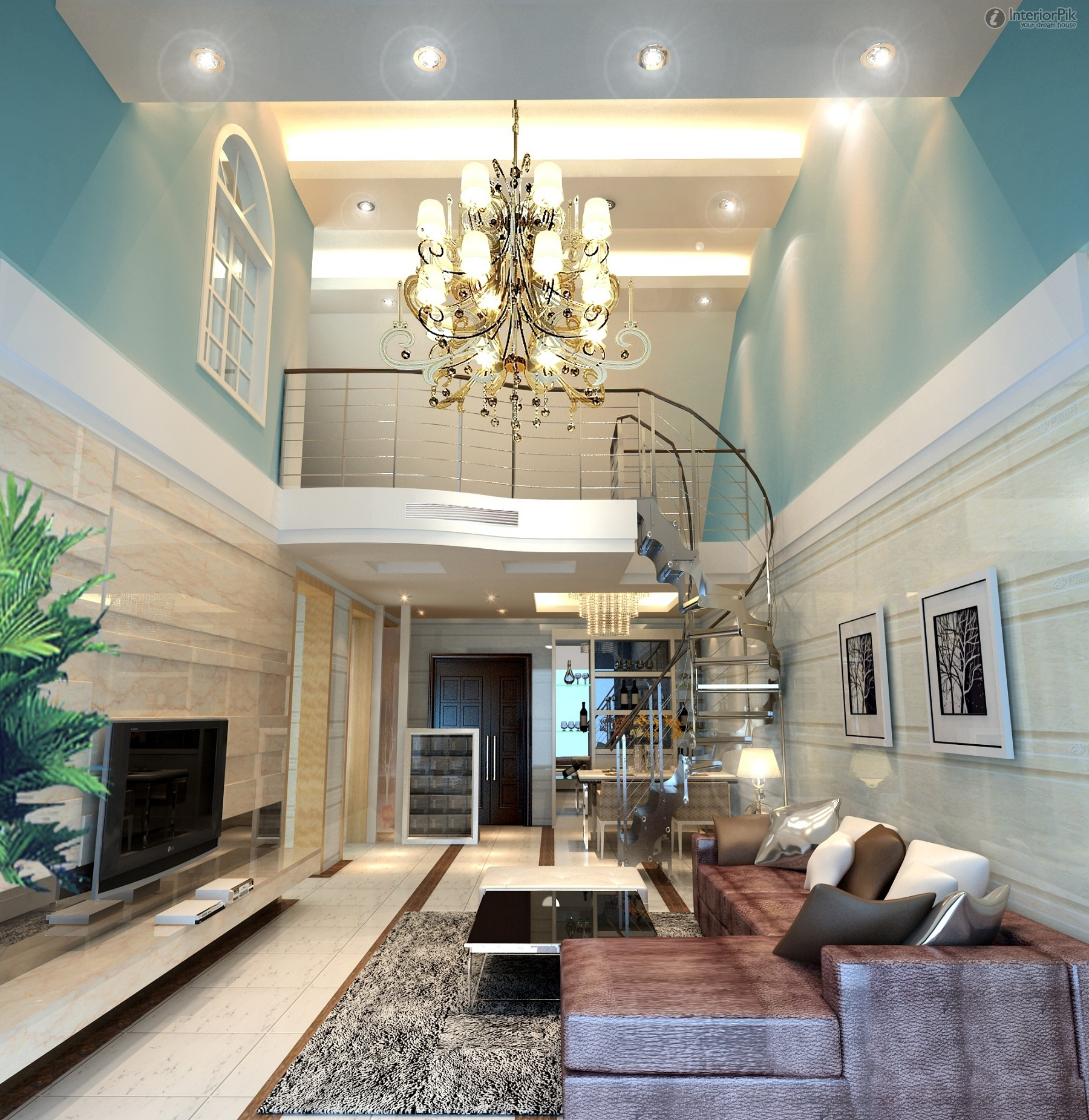 Decorating Tall Rooms: 3 Tips for Tall Wall Decor