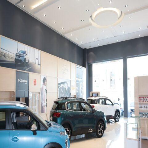 Citroen Car Showroom